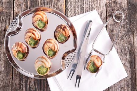 bourgogne: bourgogne snail with butter and parsley