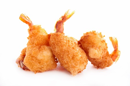 fried shrimp Фото со стока