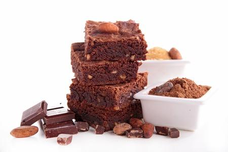 brownie: chocolate brownie