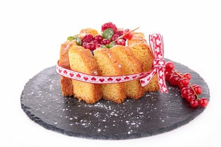 charlotte: charlotte cake Stock Photo
