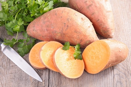 sweet potato 写真素材