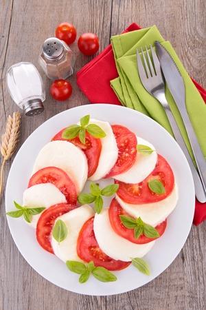caprese salad: caprese salad Stock Photo