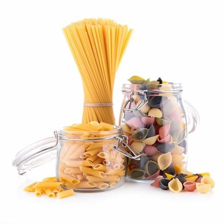 epicure: assortment of pasta Stock Photo