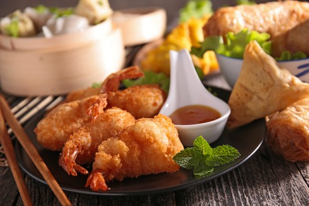 asian food: assortment of asian cuisine