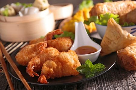 아시아 요리의 구색