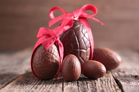 easter and egg: easter chocolate egg