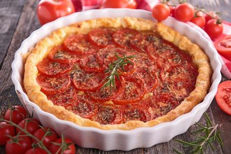 tart: tomato tart