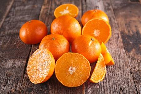 mandarin orange: fresh clementine or orange