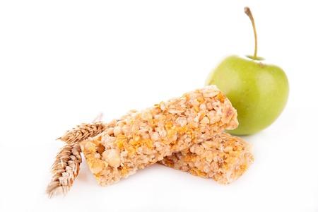 barra de cereal: barra de cereal