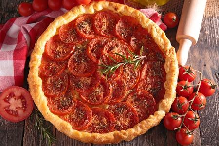heathy diet: tomato tart