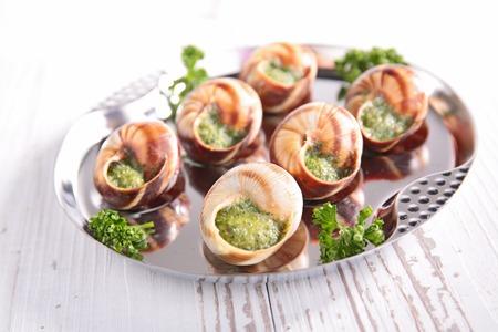 bourgogne: bourgogne escargot Stock Photo
