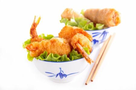 nem: asian food Stock Photo