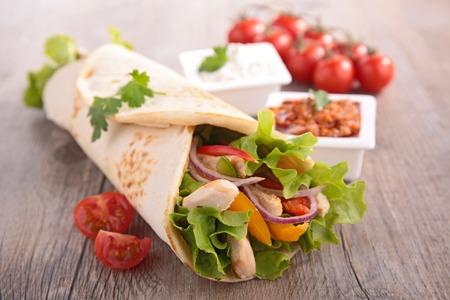 tortilla wrap: fajita, tortilla wrap