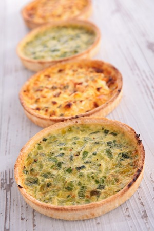 epicure: quiche Stock Photo