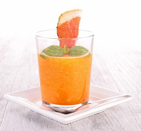 cold soup: melon cold soup