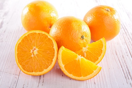 orange fruit: orange