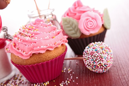 confectionery: cupcake and confectionery