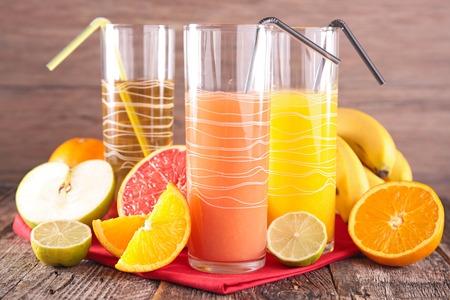 juice fruit: succo di frutta Archivio Fotografico