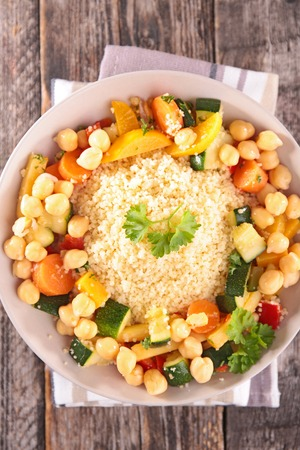 epicure: couscous Stock Photo