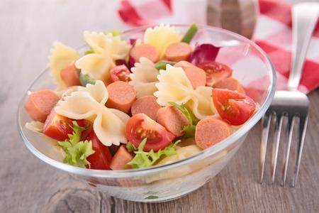 Salade de pâtes Banque d'images - 38806470