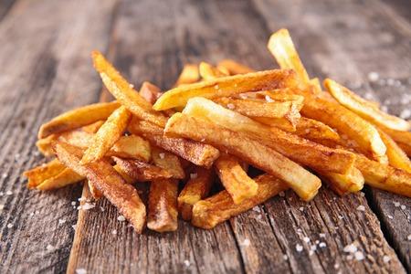 Franc?s fries Foto de archivo - 38806486