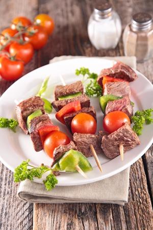 kebob: grilled meat