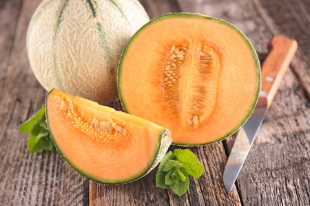 fresh melon Imagens
