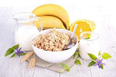 健康的な朝食 写真素材