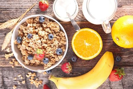 healthy breakfast: healthy breakfast Stock Photo