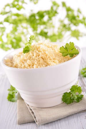 epicure: bowl of semolina