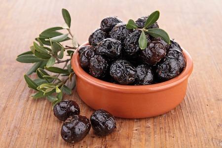 black olive: black olive Stock Photo