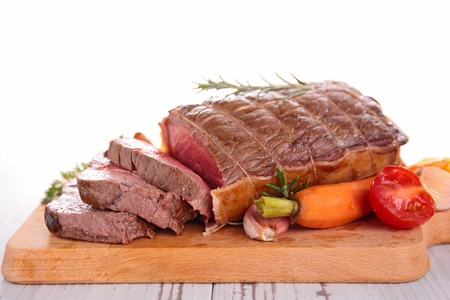 roast beef: roast beef on board