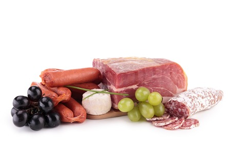 sorts: different sorts of meat Stock Photo