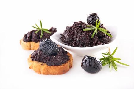 black olive: black olive and tapenade