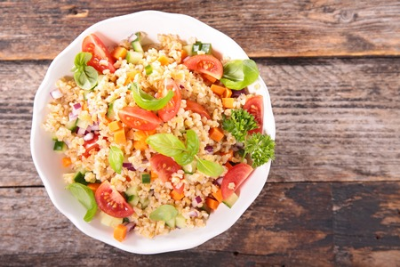 vegetable salad: quinoa salad