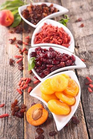 dry fruit: assortment of dry fruit Stock Photo