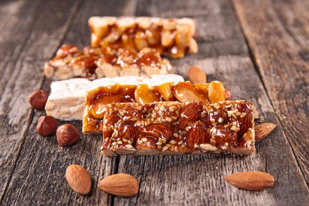 epicure: turron, almond honey bar