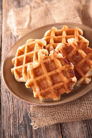 sugar bowl: waffle