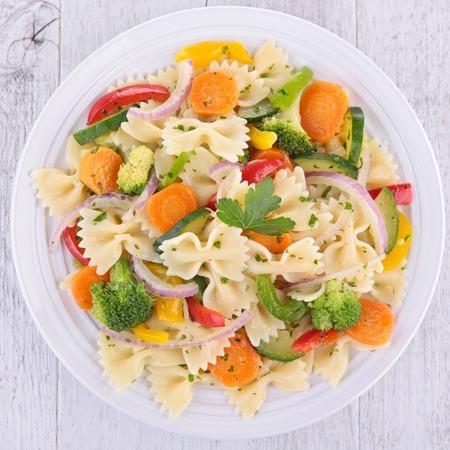 pastas: pasta y verduras