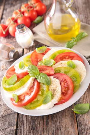 comidas saludables: Ensalada Caprese