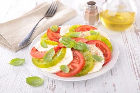 caprese: caprese salad Stock Photo