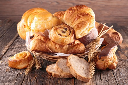 bread: assorted pastries