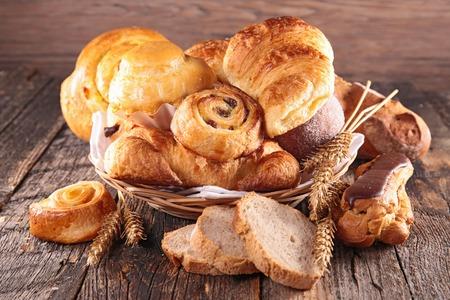 tranches de pain: p�tisseries