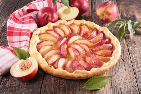 tart: peach tart