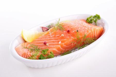 salmon fillet: salmon fillet