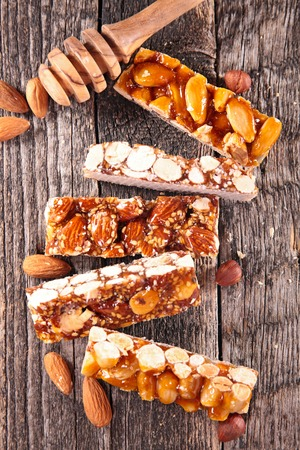 confections: confection with almond Stock Photo