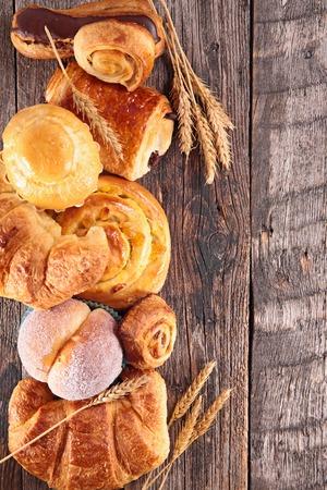 pâtisserie assortis Banque d'images
