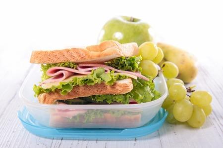 lunch box: lunch box