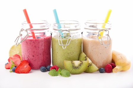 fruit smoothies Фото со стока