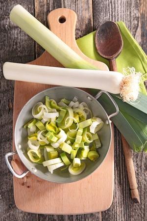 leek: casserole with leek